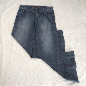 Level 99 Wide Leg Flare Twisted Seam Jeans 31